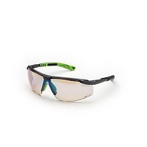 Occhiali di protezione Univet 5x8 lente in-out grigio