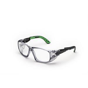 Occhiali di protezione Univet 5x9 lente trasparente