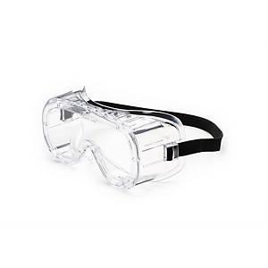 Maschera di protezione Univet 602.01 lente trasparente