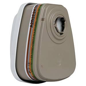 3M 6099 Abek2P3R Vapour Gas Filter Pk4