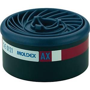 Gasfilter Moldex EasyLock 960001, Typ AX, 8 Stück