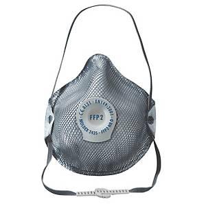 Respiratore a conchiglia Moldex 2435 FFP2 con valvola - conf. 10
