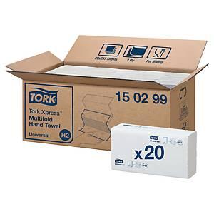 Ręczniki papierowe TORK UNIVERSAL Multifold H2, 20 x 237 listków