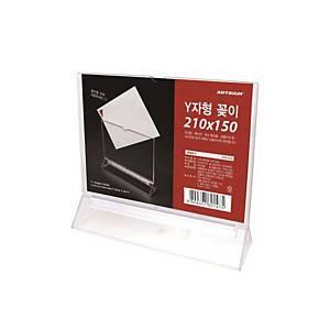 ARTSIGN F210150 Y-SHAP DISPL 210 X 60 X 150