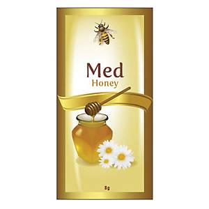 květový med v ruličkách 8 g, balení 200 kusů