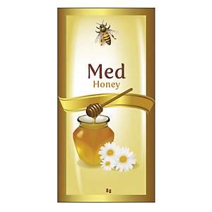 Porciovaný kvetový med, 200 kusov à 8 g