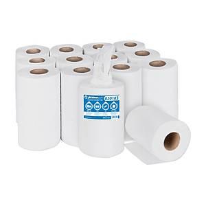 Primasoft Midi 020103 középtekercselésű papírtörlő, fehér