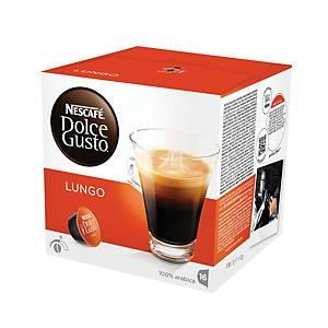 Kávové kapsle Dolce Gusto Lungo, 16 kapslí