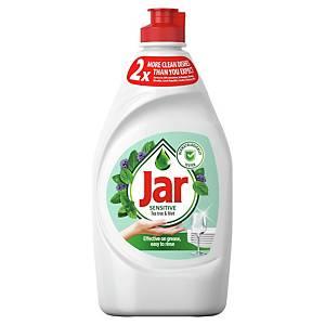 Prostriedok Jar sensitive na ručné umývanie riadu, 450ml