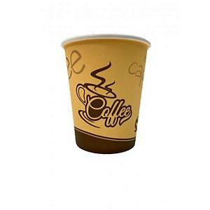 Coffee to go Becher für heiße Getränke 280 ml, 50 Stück