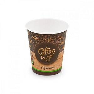 Coffee to go pohár forró italokhoz 280 ml, 50 darab/csomag