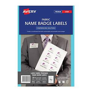 Avery L7418 Name Label 86.5x55.5mm- Pack of 120