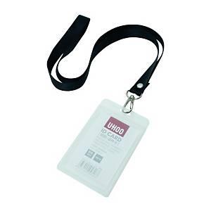 優和 6614 防水磨砂証件牌連繩