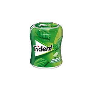 Caixa 61 pastilhas elásticas Trident - drageias - sem açúcar - hortelã-pimenta
