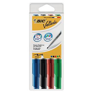 Bic 1741 Whiteboard marker 1,4 mm assorted - box of 4