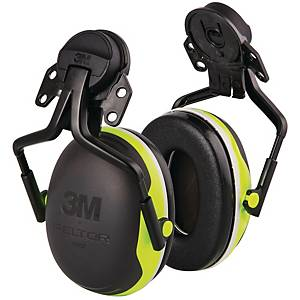 3M PELTOR X4P3E PREMIUM ATTACHED EARMUFF