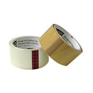Scotch 3609-C Box Sealing Tape 2.5  x 30m Clear