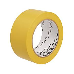 3M™ 764i marking tape, 50 mm x 33 m, yellow