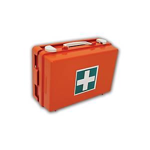 Kufrík prvej pomoci plastový s priehradkami