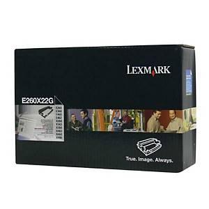 LEXMARK válec pro laserové tiskárny E260X22G, černý