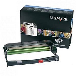 LEXMARK Trommel für Laserdrucker X203H22G schwarz