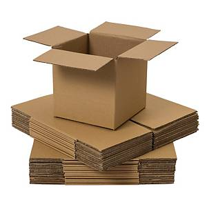 DOUBLE WALL CARDBOARD BOX 406x406x406MM - PACK OF 10