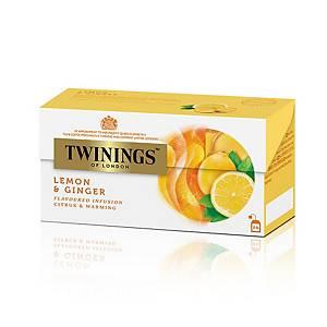 TWININGS 川寧 香擰薑花草茶茶包(信封裝) - 25包裝