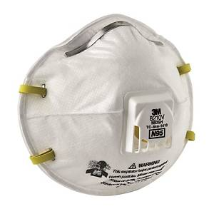 3M N95 Particulate Respirator 8210v - Pack of 10