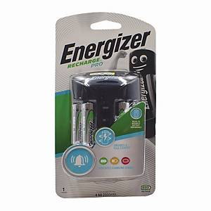 Energizer Pro Charger+ 4AA 2000MA