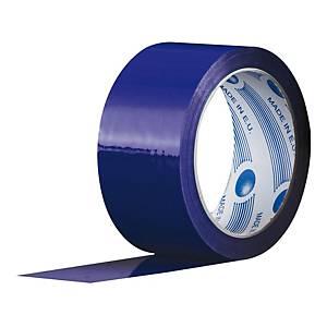 Nastro da imballo Biesse PP 50 mm x 66 m blu - conf. 6
