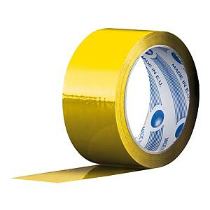 Nastro da imballo PP 50 mm x 66 m giallo - conf. 6