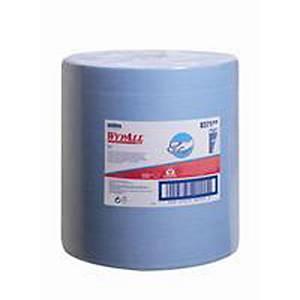 Bobina industrial Wypall - 157 m - Folha simples - azul