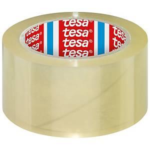 Tesa® 4195 PP tape, transparant, 50 mm x 66 m, per 6 rollen tape