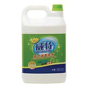 威特 高力消毒綠水 3.8L