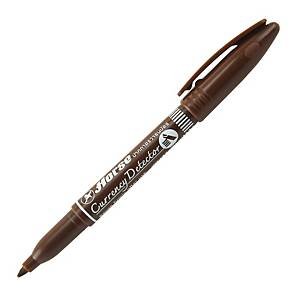 HORSE BANKNOTE DETECTION PEN BROWN