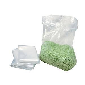 Plastiksäcke HSM 1661995050, für Aktenvernichter, Volumen: 53 Liter, 100 Stück