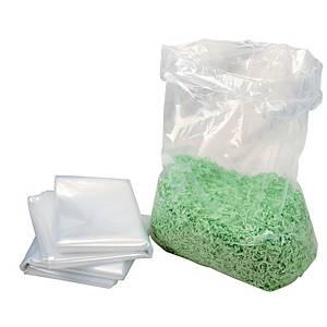 Plastiksäcke HSM 1442995000, für Aktenvernichter, Volumen: 221 Liter, 100 Stück