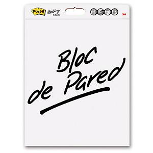 Pack de 3 blocks de reuniones Post-it - 30 hojas adhesivas - 635 x 775 mm
