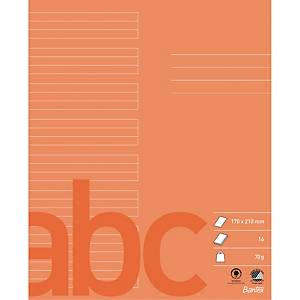 BANTEX BOOK 170X210 70G 6+6+6