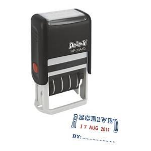 Deskmate RP-2441L2 RECEIVED Self-Ink Dater Stamp