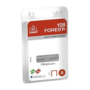 Punti  metallici Maestri 108 Forest B1 - conf. 1.764