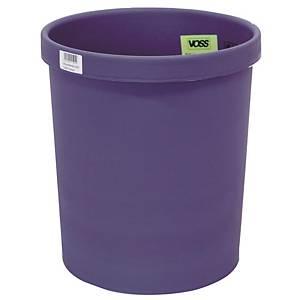 Papierkorb Metzger 201S1100, Fassungsvermögen: 18 Liter, blau