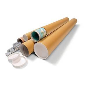 Versandrohr Ratioform VR7, Länge: 1000mm, Durchmesser: 100mm, braun