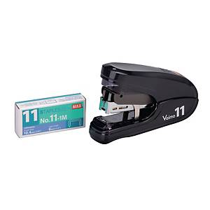 Max HD-11FLK Flat-Clinch Stapler Assorted Colours - 35 Sheets Capacity