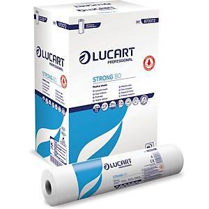 Pack de 6 rolos de papel para marquesa Lucart - 59 cm x 80 m