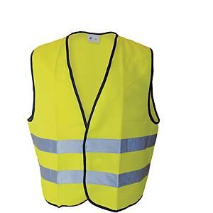 Colete para estrada de alta visibilidade CHINTEX 1060 cor amarelo tamanho XXL