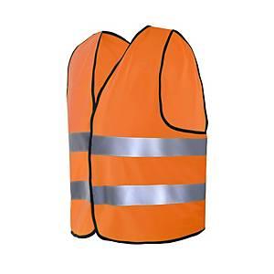 Colete para estrada de alta visibilidade CHINTEX 1060 cor laranja tamanho M