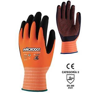 Par de guantes de precisión 3L Microdot - talla 9