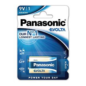 Panasonic 9V Evolta alkaline battery