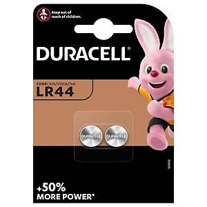 Duracell Specialty LR44 alkaline knoopcelbatterij, per 2 batterijen